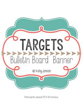 Targets Bulletin Board Banner