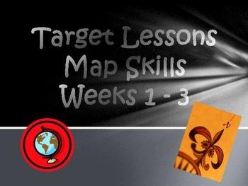 Targets/Bell Ringers over Map Skills