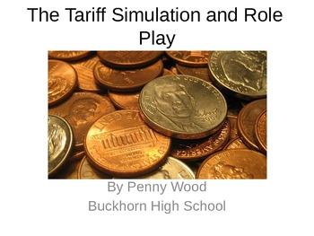 United States History Tariff of Abominations Simulation