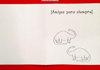 Tarjeta 1 de San Valentín para la clase de Español