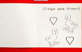 Tarjeta 5 San Valentín para la clase de Español