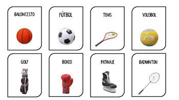 Tarjetas Deportes