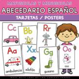 Tarjetas de Abecedario (Spanish Alphabet Posters)
