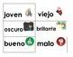 Tarjetas de Adjetivos/ Adjectives cards