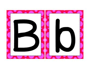 Tarjetas de Alfabeto en Español