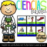 Tarjetas de Ciencias (English & Spanish Science Vocabulary Cards)