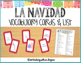 Tarjetas de La Navidad - Spanish Christmas Vocabulary Cards