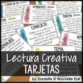 Tarjetas de Lectura Creativa - Creative Reading Task Cards (version español)