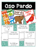 Tarjetas de Oso Pardo y 4 Libritos con palabras de alta fr