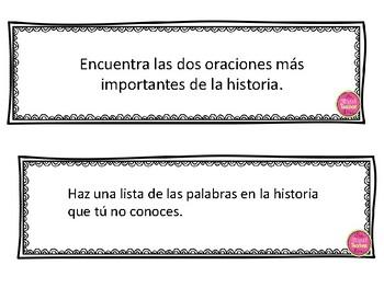 Tarjetas de Preguntas