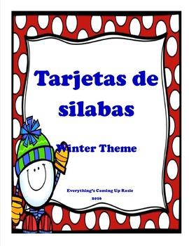 Tarjetas de Silabas - Spanish Syllables
