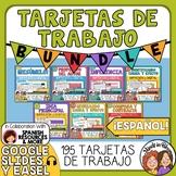 Tarjetas de Trabajo Bundle - Task Cards in Spanish