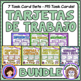Tarjetas de Trabajo Bundle - Task Cards in Spanish