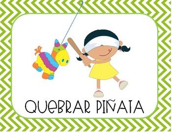 Tarjetas de Verbos en español