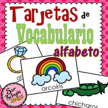 Vocabulario del Alfabeto