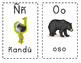 Tarjetas de abecedario