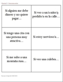Tarjetas de conversación - Conversation Cards - Cláusulas