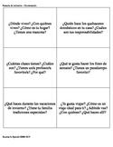 Tarjetas de conversación - Conversation Cards - Presente d