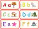 Tarjetas de letras con juego