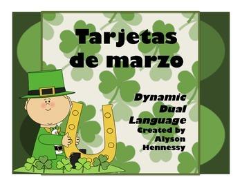 Tarjetas de marzo-Spanish Vocabulary Cards