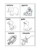 Tarjetas de rimas en español / Spanish rhyme cards