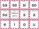 Tarjetas de silabas (SPANISH SYLLABLE CARDS)