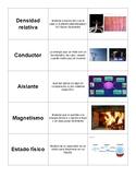 Tarjetas de vocabulario de materia (Matter Vocabulary Card