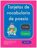 Tarjetas de vocabulario de poesía