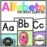 Tarjetas del Alfabeto (Alphabet Posters in Spanish) Chevron