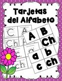 Tarjetas del Alfabeto -Spanish Alphabet Flashcards (upper and lowercase)