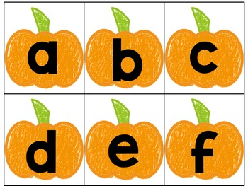 Tarjetas del Alfabeto