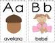 Tarjetas del abecedario