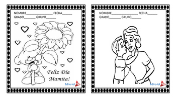 Tarjetas para Colorear e Iluminar para imprimir