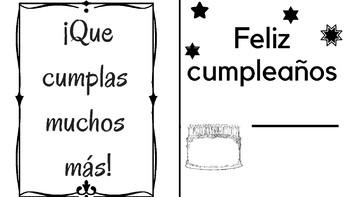 Tarjetas para cumpleaños