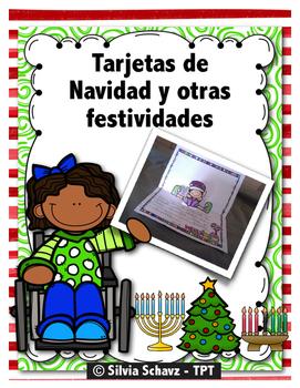 Tarjetas para festejar las fiestas de diciembre