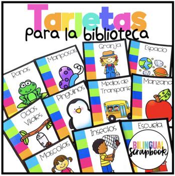 Tarjetas para libros (Library Labels in Spanish)