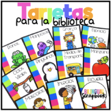 Tarjetas para libros (Library Labels in Spanish)