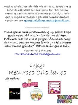 Tarjetas para reforzar la identidad en Cristo (Español)