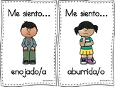 Tarjetas sobre los sentimientos (Feelings & Emotions Flashcards)