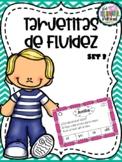 Tarjetitas de Fluidez - Fluency cards in Spanish