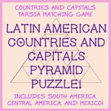 Tarsia Matching Puzzle - Latin American Countries and Capitals - Fun!