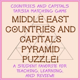 Tarsia Matching Puzzle - Middle East Countries and Capitals -- Fun!