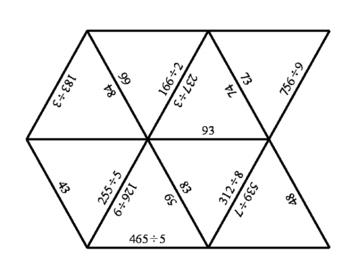 Tarsia Puzzle - Long Division