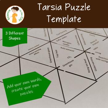 Tarsia Puzzle Template Set