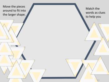 Tarsia Puzzle Editable Template Set