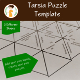 Tarsia Puzzle Editable Template Set