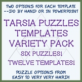 Editable Tarsia Puzzle Templates - Put In Content by Hand or in PowerPoint