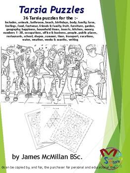 Tarsia Puzzles Vietnamese ESL
