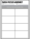 Tarsia Puzzles Worksheet