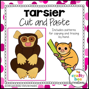 Tarsier Cut and Paste